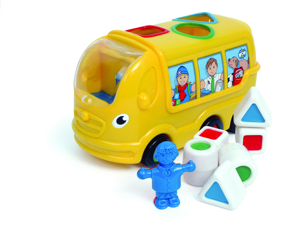 WOW Toys - Sidney School Bus | KidzInc Australia | Online Educational Toy Store