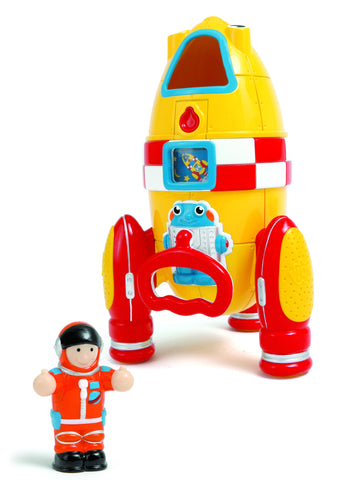 WOW Toys - Ronnie Rocket | KidzInc Australia | Online Educational Toy Store