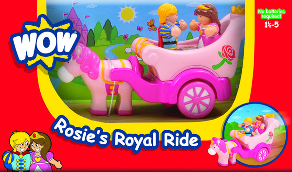 WOW Toys - Rosie's Royal Ride | KidzInc Australia | Online Educational Toy Store