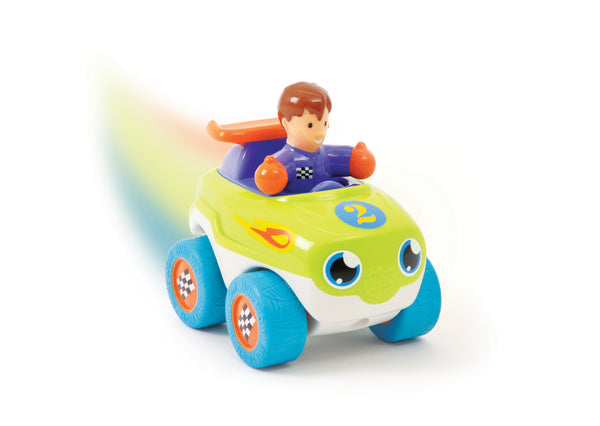 WOW Toys - Mini WOW - Ace the Racecar | KidzInc Australia | Online Educational Toy Store