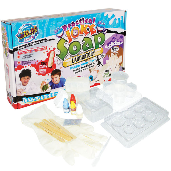 Wild Science - Practical Joke Soap | KidzInc Australia | Online Educational Toy Store