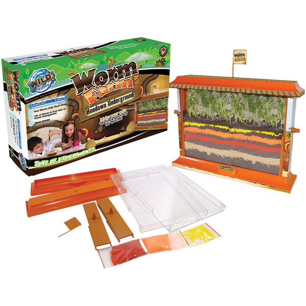 Wild Science - Worm Farm | KidzInc Australia | Online Educational Toy Store