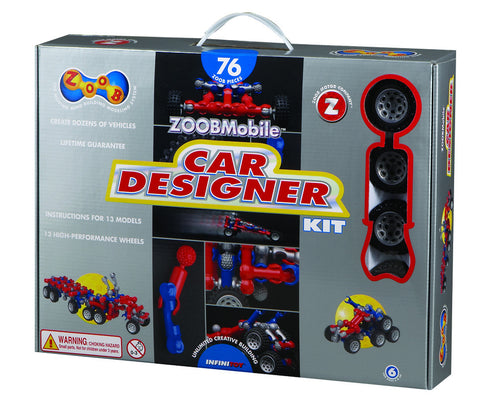 ZOOB Mobile Car Designer Kit | KidzInc Australia | Online Educational Toy Store
