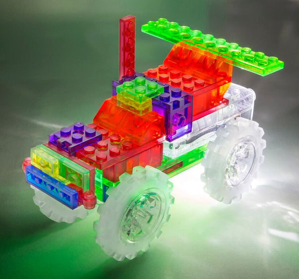 Laser Pegs - 6 in 1 Monster Truck | KidzInc Australia | Online Educational Toy Store