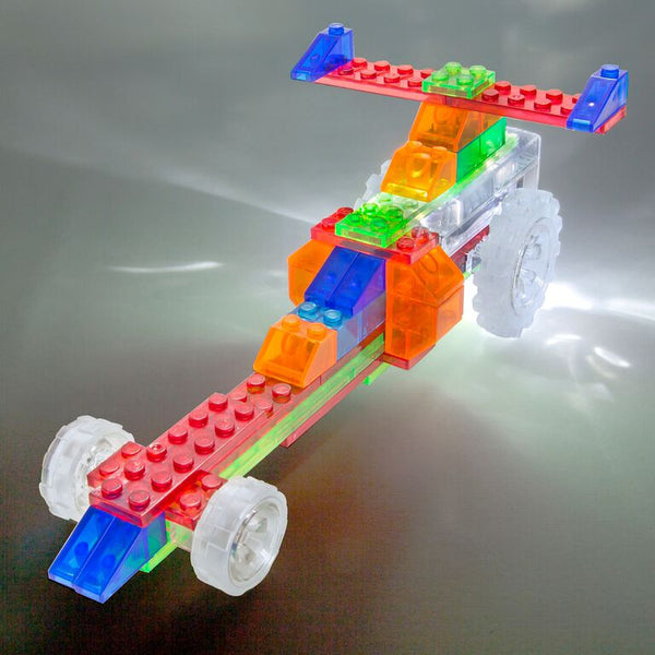 Laser Pegs - 6 in 1 Dragster | KidzInc Australia | Online Educational Toy Store
