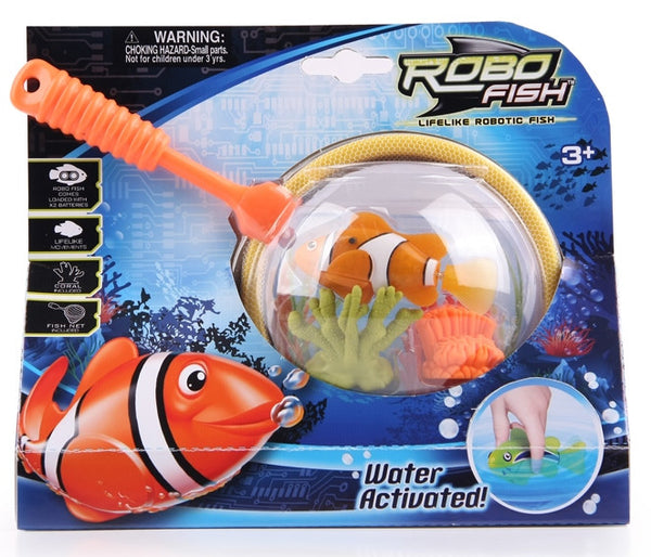 Zuru - Robo Fish Net and Coral Playset | KidzInc Australia | Online Educational Toy Store