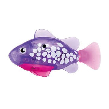 Zuru - Robo Fish LED Purple | KidzInc Australia | Online Educational Toy Store