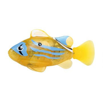 Zuru - Robo Fish LED Yellow | KidzInc Australia | Online Educational Toy Store