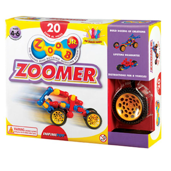 ZOOB JR Zoomer 20 Pieces | KidzInc Australia | Online Educational Toy Store