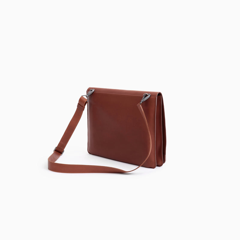 N°1007 SHOULDER BAG WITH BIG ROUND FLAP