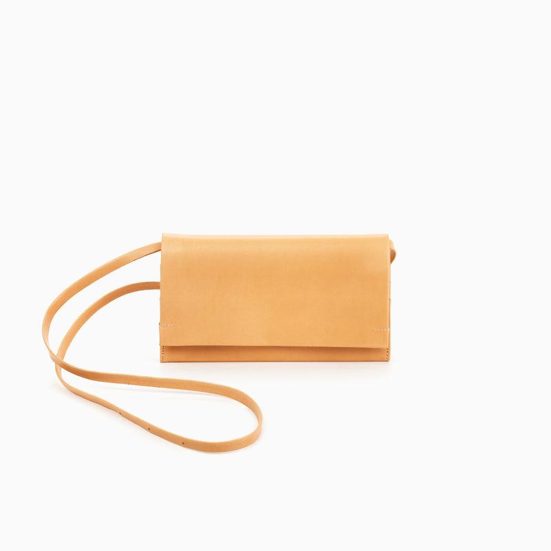N°200 PLEATED WALLET WITH BELT