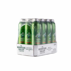 750 ML SPRING WATER IN ALUMINUM (12 PACK)