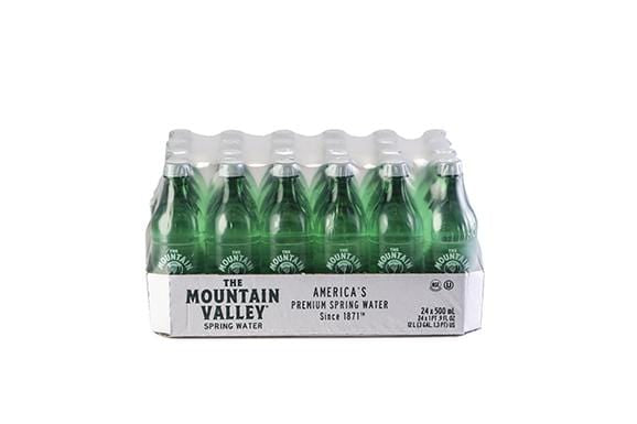 500 ML SPRING WATER IN PET (24 PACK)