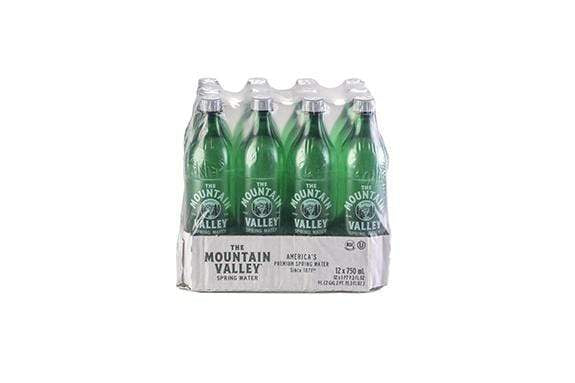 750 ML SPRING WATER IN PET (12 PACK)