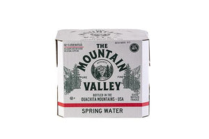 1 L SPRING WATER IN GLASS (12 PACK)
