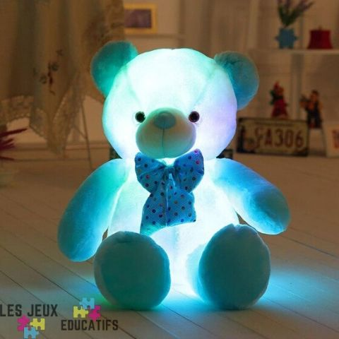 peluche_ours_lumineux_pas_cher