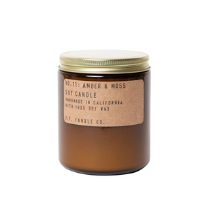 P.F. Candle Co. Amber & Moss - 3.5 oz Soy Candle