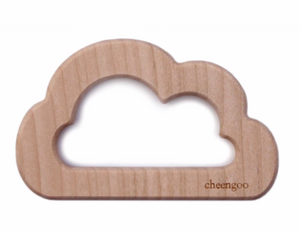 Cloud Wooden Teether