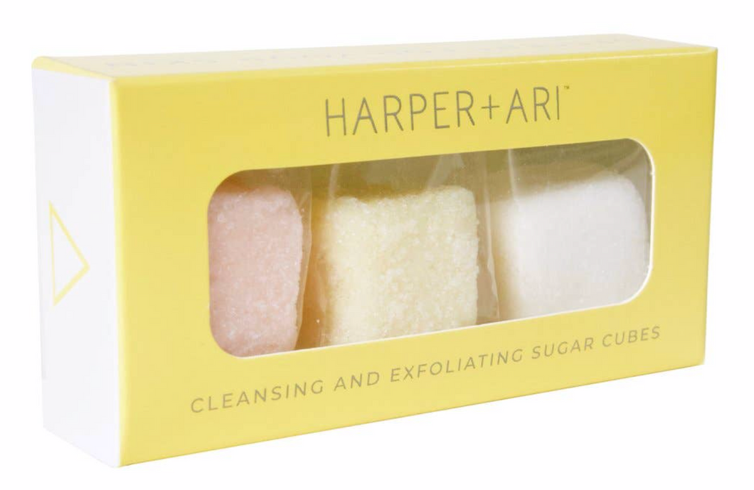 Mini Exfoliating Sugar Cube Giftbox