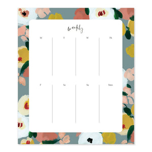 Weekly Agenda Pad - Our Heiday