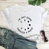 I'm Just Going Through A Phase | Witch T-shirt