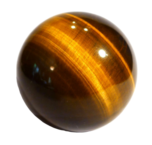 1pcs Tiger Eye Crystal Ball