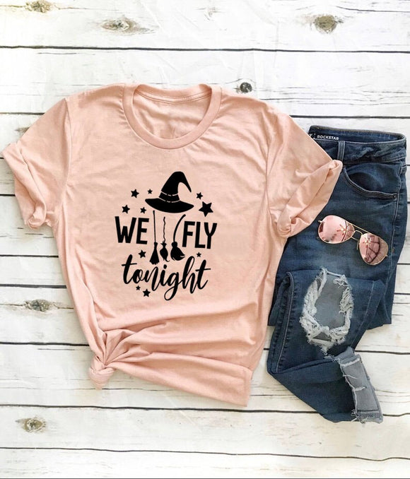 We Fly Tonight | Witch T-Shirt