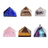 Crystal Pyramid Quartz Various types