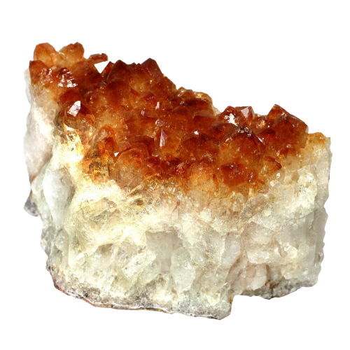 Citrine Quartz Cluster 1Pcs