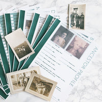 USA Deluxe 200 Page Ultimate Family History Bundle - Pine (Digital Download)
