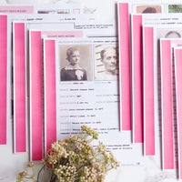 USA Deluxe 200 Page Ultimate Family History Bundle - Pink (Digital Download)