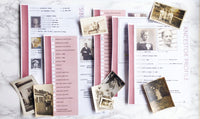 USA Deluxe 200 Page Ultimate Family History Bundle - Maroon (Digital Download)