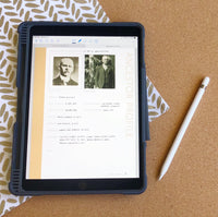 Deluxe 200 Page Family History Bundle - Sand (Digital Download)