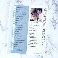 Adoption Records: Printable Genealogy Form (Digital Download)