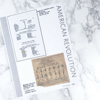 American Revolution Records: Printable Genealogy Forms for Family History Binder (Digital Download)