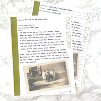 Father's Day Family History Bundle - 23 Colors (Digital Download)