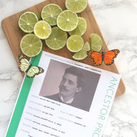 USA Deluxe 200 Page Ultimate Family History Bundle - Lime Green (Digital Download)