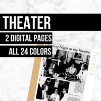 Theater: Printable Genealogy Form (Digital Download)