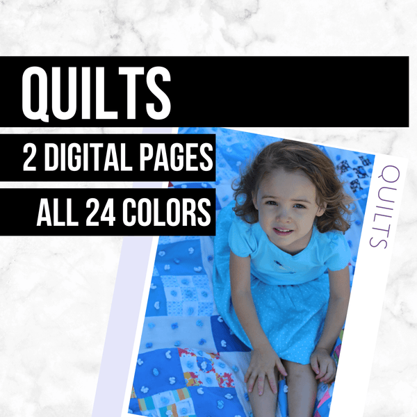 Quilts: Printable Genealogy Forms (Digital Download)