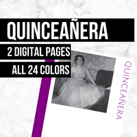 Quinceanera: Printable Genealogy Forms (Digital Download)