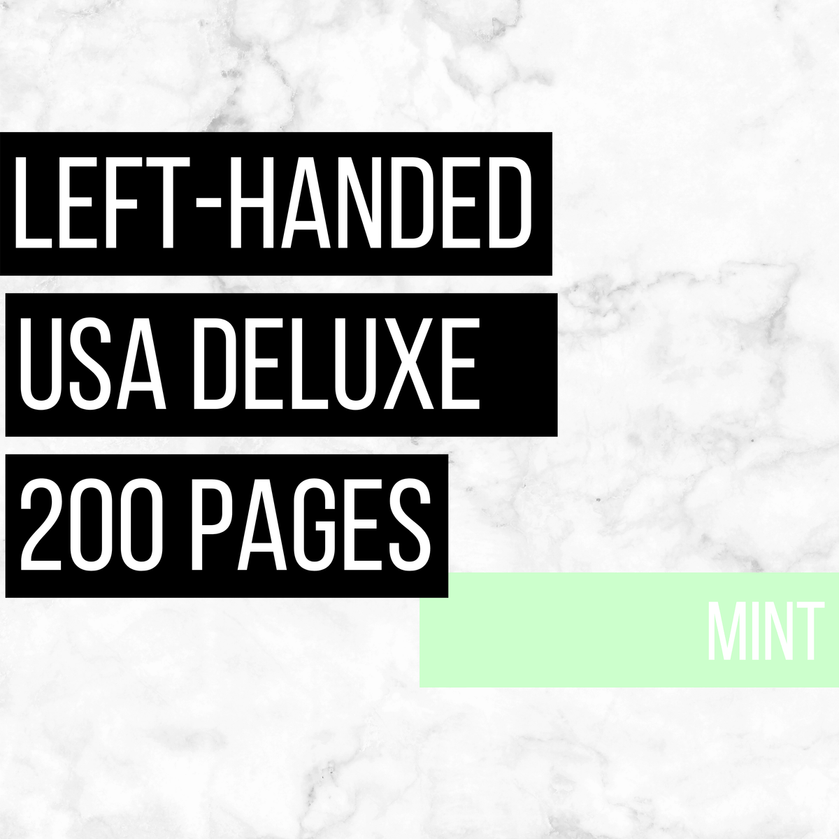 USA Deluxe Left-Handed Family History Bundle - Mint (200-Page Digital Download)