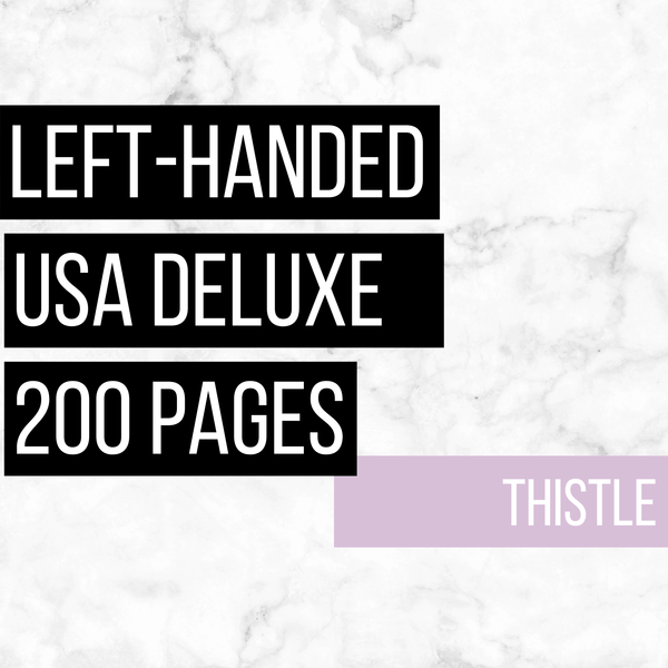 USA Deluxe Left-Handed Family History Bundle - Thistle (200-Page Digital Download)