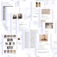 International Deluxe 200 Page Family History Bundle - Lavender (Digital Download) - Family Tree Notebooks