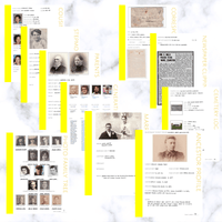 Deluxe 200 Page Family History Bundle - Yellow (Digital Download)