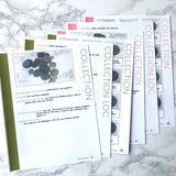 Collections Bundle: Printable Genealogy Forms for Family History (Digital Download)