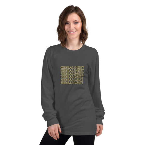 Genealogist /// Family History Long Sleeve T-Shirt