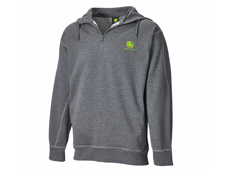 John Deere Zip Pullover with Hood