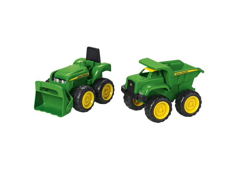 John Deere Mini Vehicles Sandbox Set