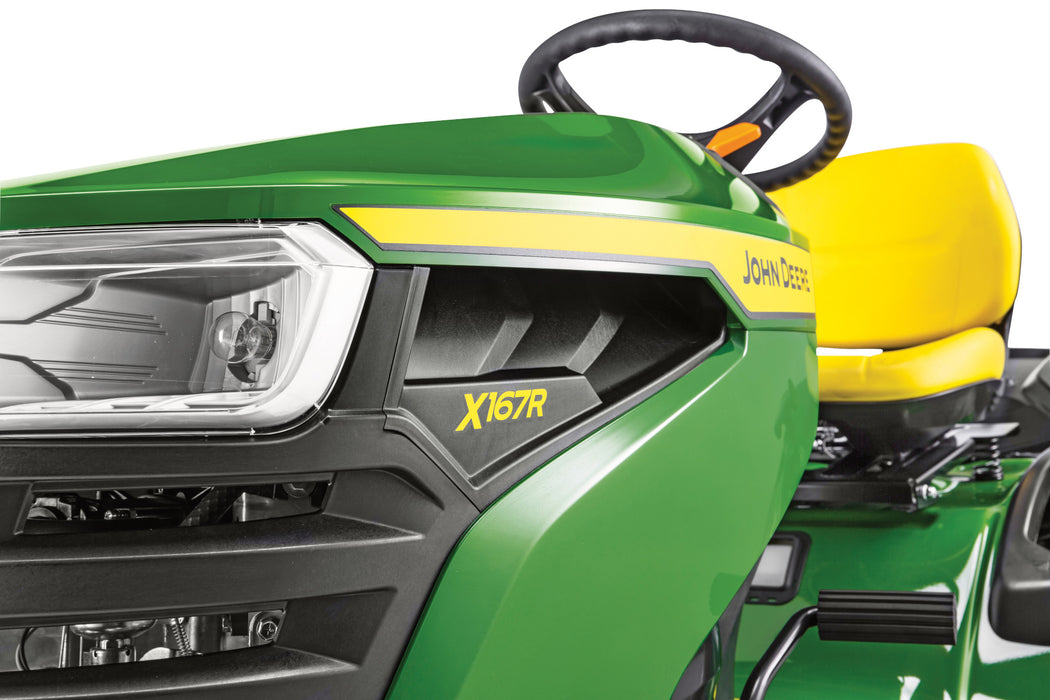 John Deere X167R Ride-On Mower