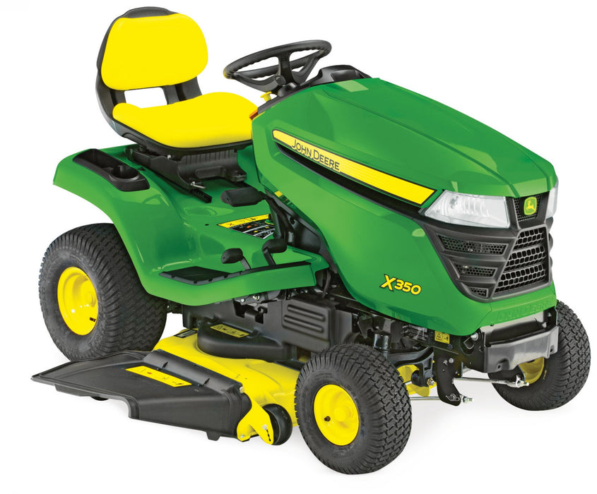 John Deere X350 Ride-On Mower